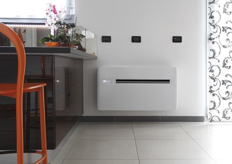 Klimagerät in der Küche