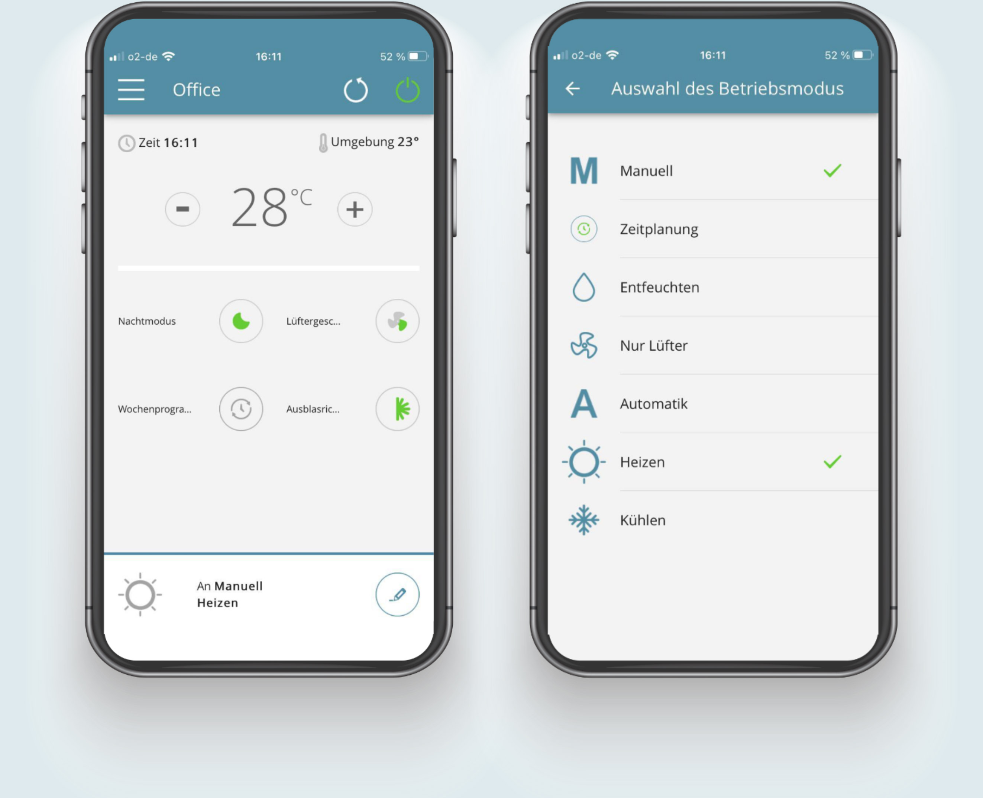 Klimagerät - Steuerung per App