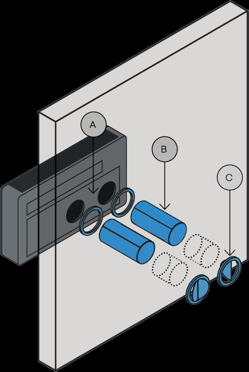 Einfache Installation - Montageschema