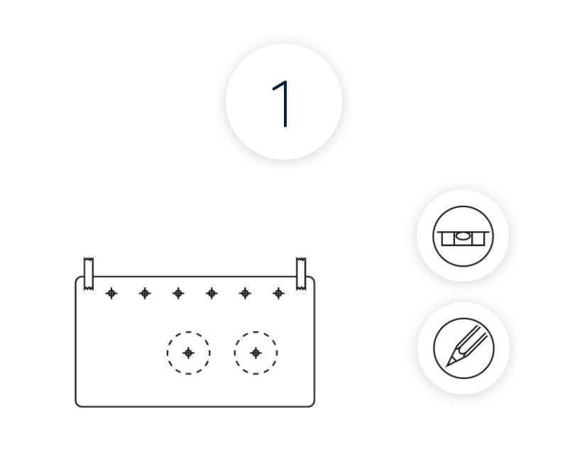 Montage - Schritt 1