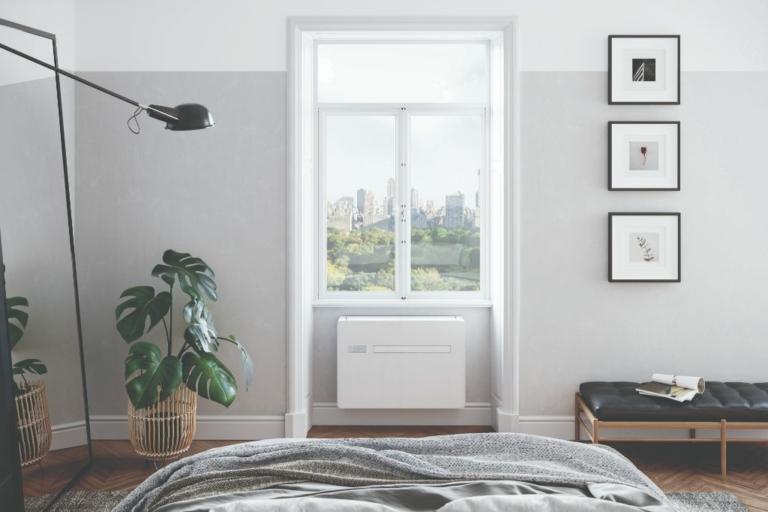 Klimaanlage Capri vor dem Fenster - Raumluft24